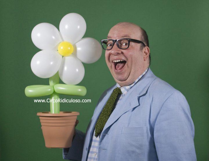 O jardineiro de balão