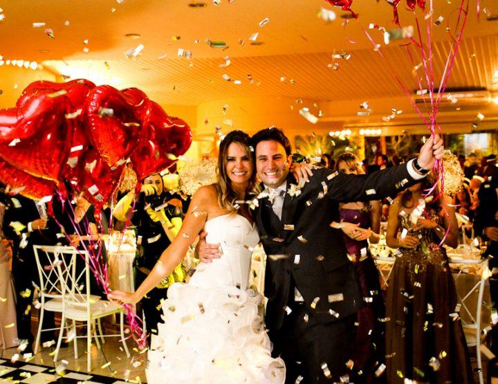 Idéias originais: balões em casamentos