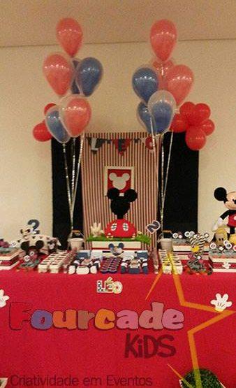 Aniversário infantil do Mickey.