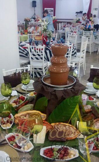 Palácio das Artes - Cascata de Chocolate