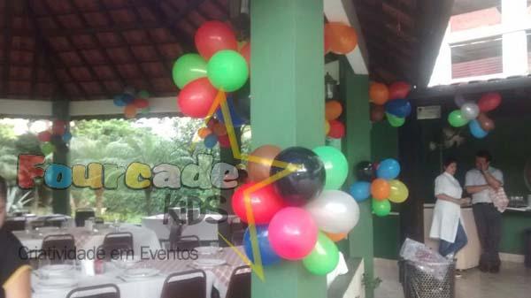 Balões Coloridos - Clube dos Ingleses