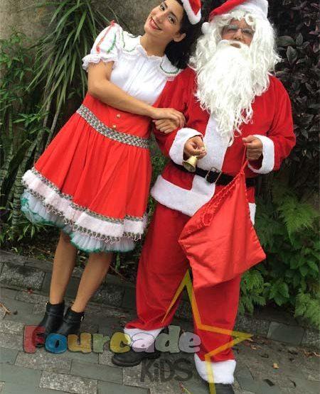 Visita do Papai Noel - Natal 2015